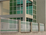 Blanc de clôtures de jardin résidentiel simple d'acier 18-4