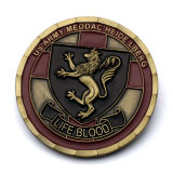 Поощрение дешевые Professional позолоченные серебряные двойной дракон религиозных Памятные монеты