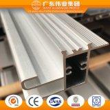 Perfil de aluminio/carril del fabricante de Foshan para las puertas deslizantes