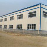 Edificio de almacenaje ligero prefabricado del marco del metal