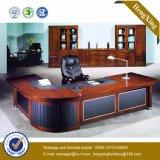 Mobilier de bureau à haute brillance Table de bureau en placage en bois massif (HX-MT3076)