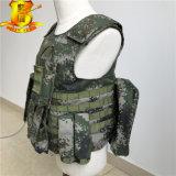 Gilet à l'épreuve des balles militaire du camouflage T07