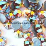 Do Rhinestone quente ambarino do reparo de Lastset a melhor Ss16 pedra 2018 de cristal de vidro de venda de Preciosa da cópia Ab (classe ambarina de HF-ss16 ab /5A)