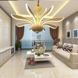 Nuovo lampadario a bracci gigante del soffitto del salone LED di disegno della Doubai