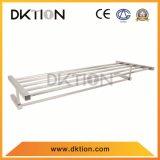 Doppia mensola del tovagliolo dell'acciaio inossidabile del supporto della fila DY009