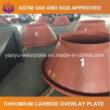 Плита высокого крома износоустойчивая стальная