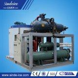 Fabbricazione dell'OEM di Sindeice raffreddata ad acqua con la macchina di ghiaccio del fiocco mare/fresca dell'acqua