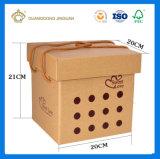 Конфеты шоколад печатных бумажных упаковочных материалов подарочная упаковка (с ручкой)