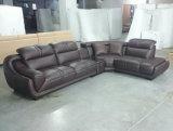Sofá de cuero de la alta calidad, sofá con la esquina, precio de fábrica (A849)