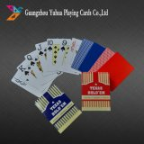 Black Core Paper Poker PVC Playing Cards para Casino