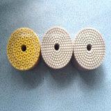 """4""""-8"""" Wet/Seca ferramenta de polimento de diamantes para Stone-Tiles-piso de concreto"""