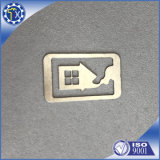 Laser-Ausschnitt-Herstellungs-Service, Blech-Leerzeichen-Edelstahl-Bookmarks auf Verkauf