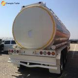 3개의 차축 42000liters 판매를 위한 디젤 엔진 탱크 트레일러 40000 리터 기름 연료