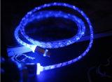 LED Samsung 인조 인간 iPhone를 위한 가벼운 USB 데이터 케이블
