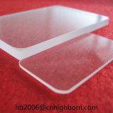 Placa del cuarzo del claro del ángulo de Baibo R5