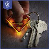 고객을%s 선물 PVC 빛난 열쇠 고리를 광고하는 만화 작풍