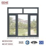 Deuren van de Vensters van het Glas van het Aluminium van het Ontwerp van China de Nieuwe voor Verkoop