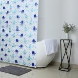 Вода от комаров ванной душем PEVA шторки с пресс-формой свободной