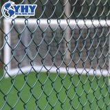 Cadeia galvanizado revestido de PVC de segurança da ligação paralela de malha