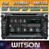 Witson Windows Hyundai Mistra에서 라디오 입체 음향 DVD 플레이어