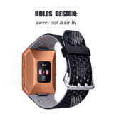 Esportes 22mm faixa de relógio de silicone para Fitbit Ionic