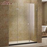 Para duche com 1 porta articulada e 2 Painéis fixos