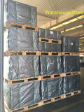 Decking compuesto plástico de madera hueco verde resistente al fuego /Flooring de la textura de madera del HDPE