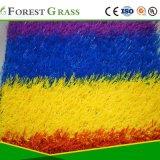 يلوّن عشب اصطناعيّة/عشب اصطناعيّة لأنّ زخرفة ([مبي])