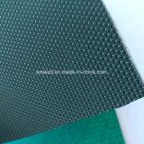 Haute qualité de l'essence Courroies transporteuses PVC vert pour le polissage machine