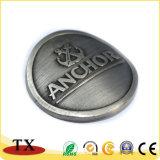 Placage gravé moderne insigne métallique