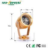 Luz al aire libre del punto de 3W LED con alta calidad