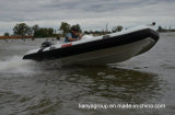 Liya 4.3m Stijve Opblaasbare Fabrikanten van de Boot van de Rib van Vissersboten