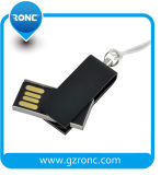 Capacidade real 32GB Unidade Flash USB Universal de metal com porta-chaves