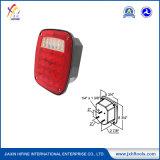 DOT/SAE LED carré universel combinaison feu arrière de signal