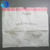 Le HDPE a personnalisé le sac de roulis en plastique estampé de cordon