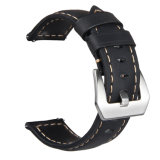 De echte Riem van het Horloge van het Leer voor Grens 22mm van het Toestel van Samsung S3 Band