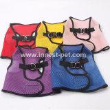 Piccola maglia sveglia della maglia del cablaggio e del guinzaglio del cane per il cucciolo del gatto dell'animale domestico