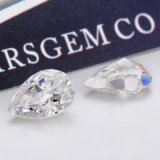 10X7m m dimensión de una variable de la pera de 1.5 quilates machacaron el diamante de Moissanite del color del Gh del corte del hielo