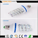 lámpara espiral de 12With16With20W24With30With40W T5 LED