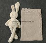 100% manta hecha punto algodón del bebé