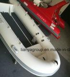 Bateau gonflable en aluminium de paquet ouvert d'usine de bateau de Liya 3-8person Chine