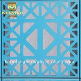 レーザーによって切られる装飾的なアルミニウムカーテン・ウォールの正面