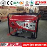 Générateur portatif d'essence de l'engine d'essence de générateur 6kw avec des roues