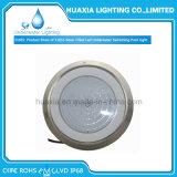 La resina dell'acciaio inossidabile 316 ha riempito l'indicatore luminoso subacqueo montato della lampada della piscina