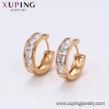 Moda Xuping Color Oro 18K Arete 29255