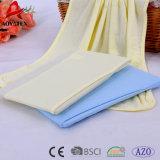 100% algodão Manta bebê bebê sólido cobertor Fleece Bebê Manta de malha