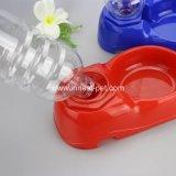 Синий красного цветов автоматической подачи собак и пластмассовый собак для очистки воды