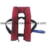 海洋のセリウムの公認150n膨脹可能な救命胴衣
