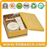 선물 양철 깡통 패킹, 주석 상자를 위한 금속 직사각형 주석