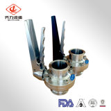 304L/316L plastic/Stainless Steel concerns Muitl position Weld ends to Butterfly Valves